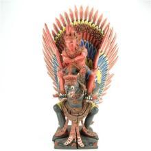 Balinese Carved Timber Garuda Figure