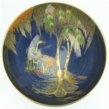 Carlton Ware 'New Stork' Table Bowl by Irene Pemberton