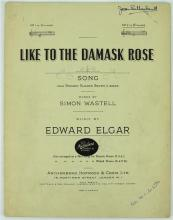 Dame Joan Sutherland Autographed Sheet Music by Edward Elgar
