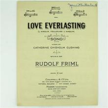 Dame Joan Sutherland Autographed Sheet Music by Rudolf Firml