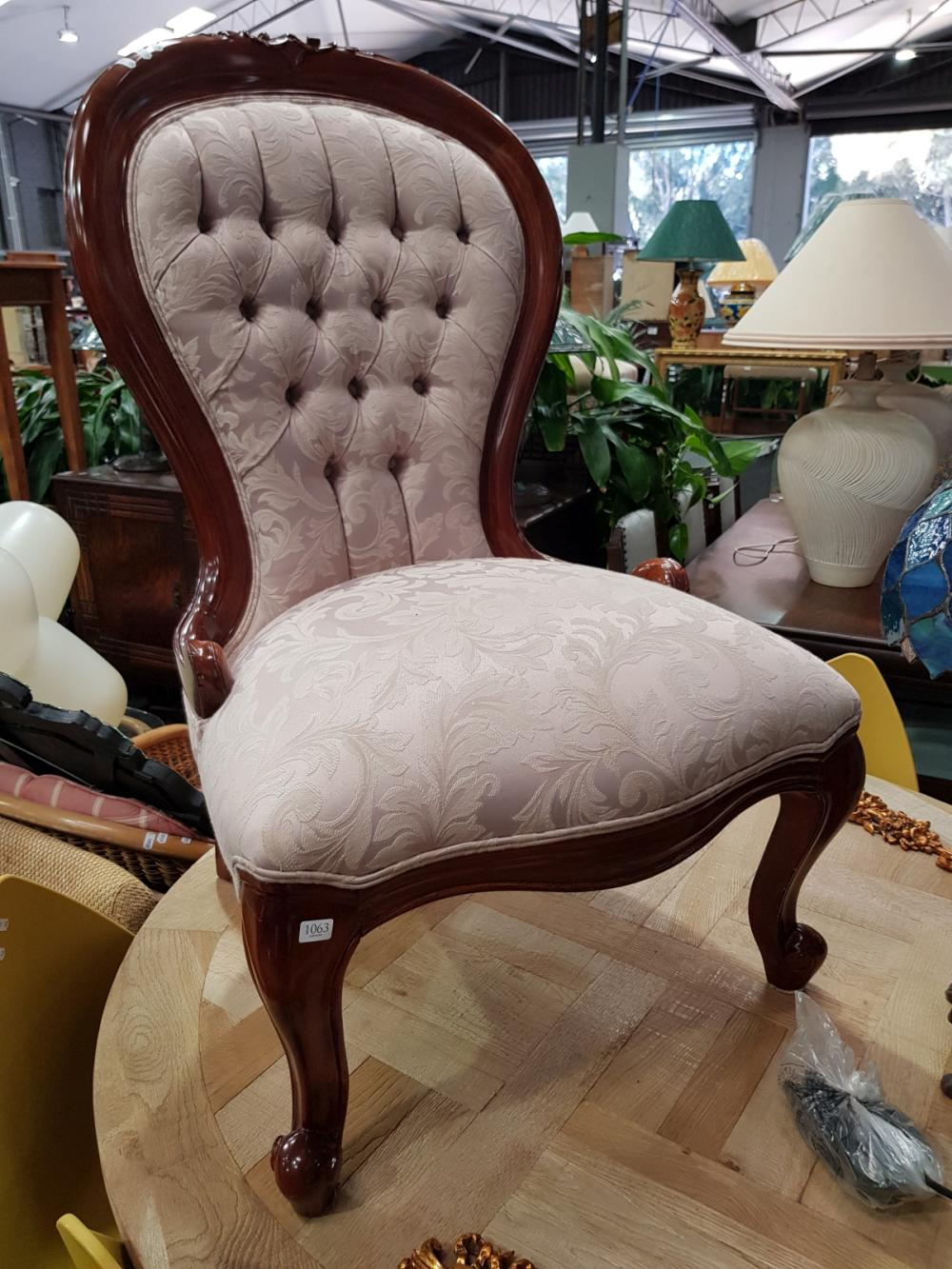 Mahogany Grandmother Chair