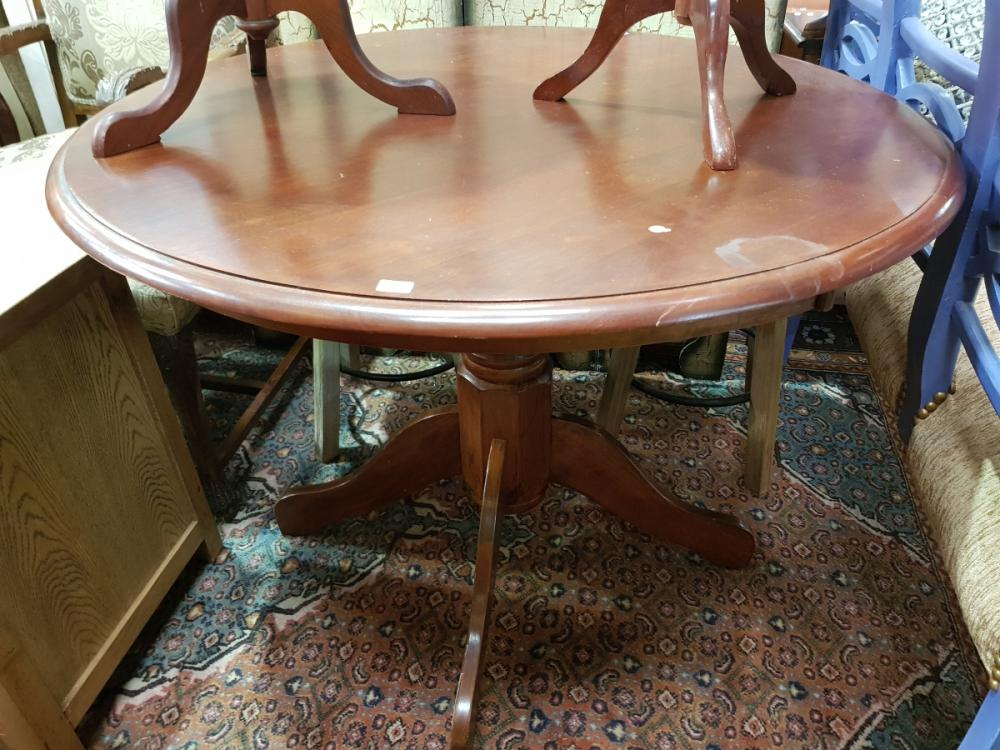 Round Top Timber Occasional Table