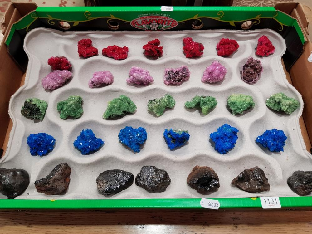 Box of Crystals and Minerals