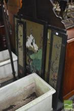Set of 5 Japanese Decorative Screens
