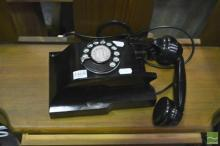 Vintage Wall Mount Dial Phone