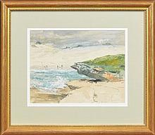 Julian Rossi Ashton (1851 - 1942) - Bondi, 1883 21 x 27.5cm