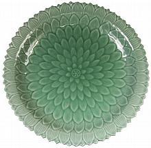 Chinese Celadon Fine Dish