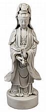 Chinese Blanc de Chine Dehua Figure of Guanyin