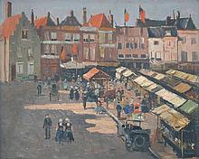 Will Ashton (1881 - 1963) - Marken, Holland oil on canvas on board