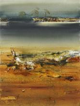 Geoffrey Dyer (1947 - ) - King River I 57 x 76cm