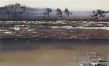 Geoffrey Dyer (1947 - ) - Untitled (Landscape) 61.5 x 101cm