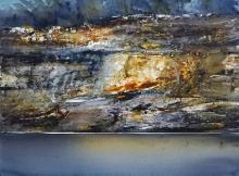 Geoffrey Dyer (1947 - ) - Riverbank 55 x 74.5cm