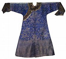 CHINESE COURT SUMMER ROBE, QING DYNASTY 19TH CENTURY