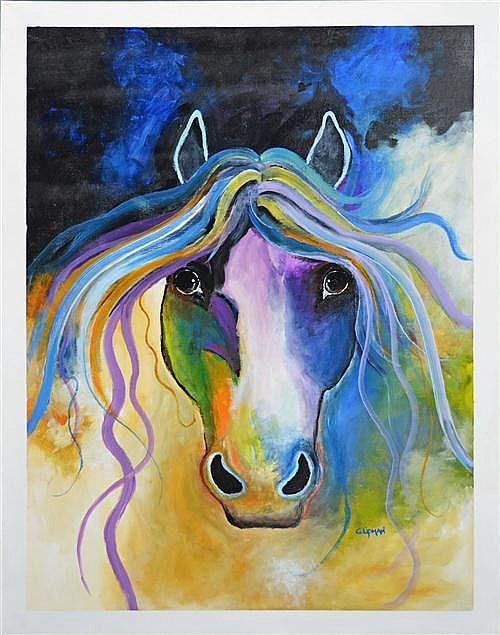 Greg Lipman (1938 - ) - Spirit Of Love 122 x 91cm