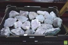 Box Of Amethyst/Quartz  Crystal