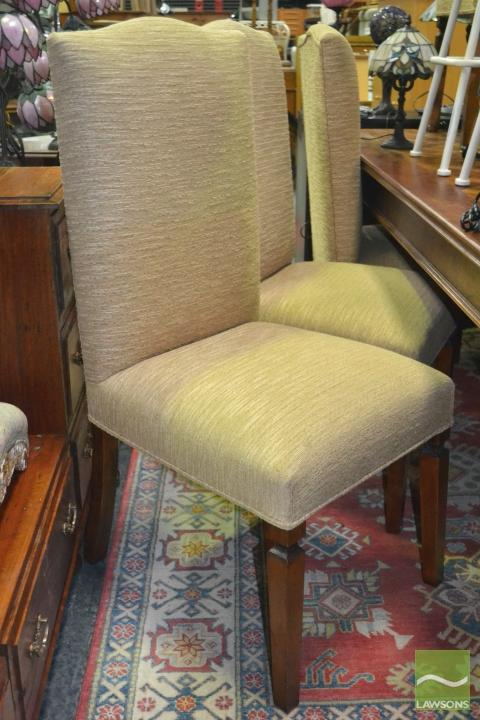 Set of Yellow Upholstered Dining Chairs : H0669 L113858117 from www.invaluable.co.uk size 480 x 720 jpeg 58kB