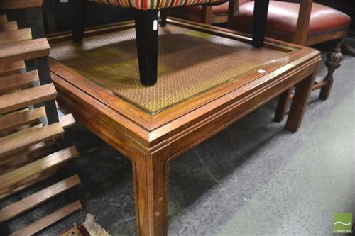 Oak Coffee Table Missing Glass Top