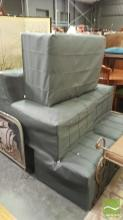 Seven Piece Maiori Outdoor Lounge  inc 4 Lounge Chairs and 3 Ottomans