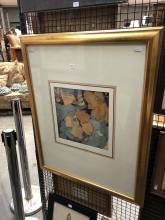 """Susan Cadby """"Orange Hibiscus"""""""