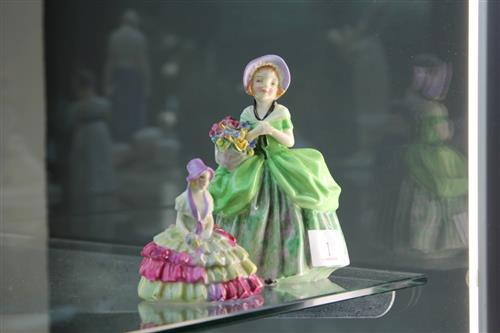 Royal Doulton Figures 'Cissie' HN 1808 and 'Chloe' M29