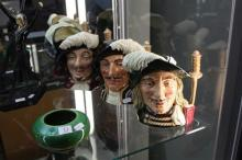 Royal Doulton Character Jugs 'The Three Musketeers