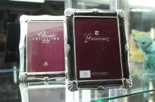 Grosvenor Silver Plated Pair of Picture Frames