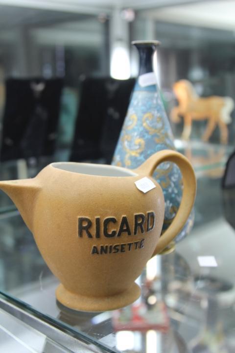 Royal Doulton Vase & a French Water Jug