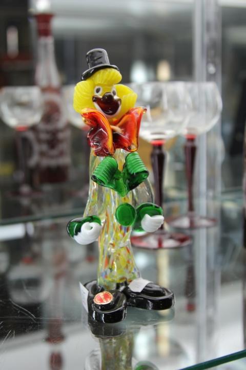 Murano Art Glass Clown