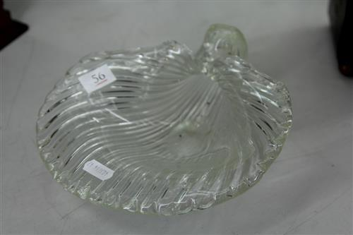 Murano Shell Form Glass Centrepiece