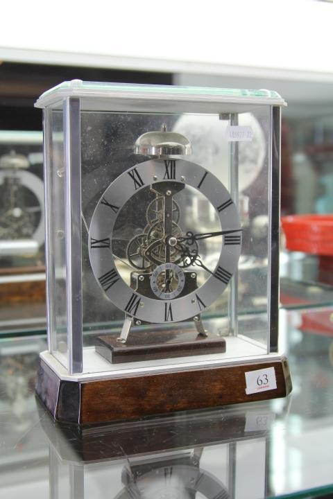 Clock in Case