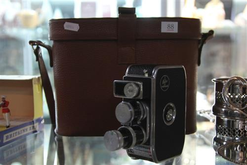 Bolex Paillard 1959 Edition Camera in Case with Accessories
