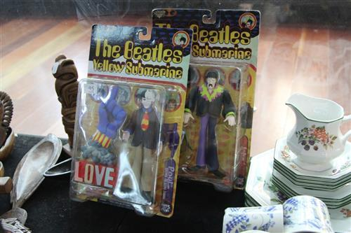 Two Beatles Yellow Submarine Figures in Original Boxes