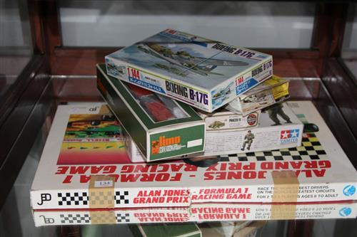 Model Aircraft Kits with an Alan Jones Board Game