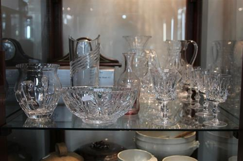Watford Crystal Centrepiece with Other Crystal incl. Vases