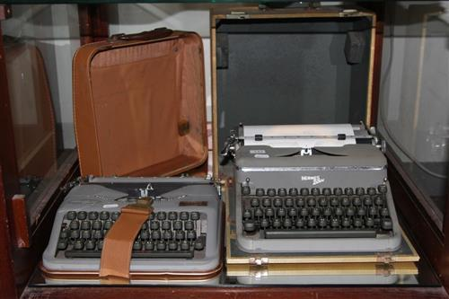Hermes '2000' Typewriter with a Hermes 'Baby