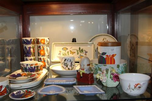 Wedgwood Jasper Wares with Other Ceramics incl. Villeroy & Boch 'Acapulco' Tea Wares