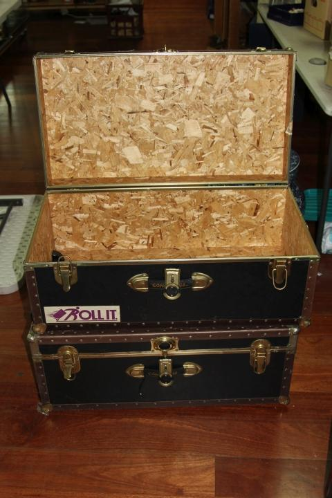 Pair of Wheeled Concourse Travelling Cases