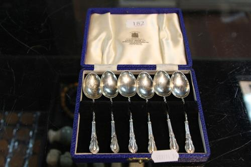 English Hallmarked Sterling Silver Teaspoons (weight - 36g)