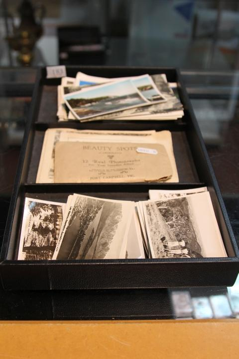 Collection of Early Photographs and Postcards