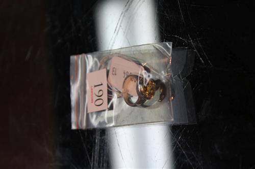 Silver & Stone Set Ring