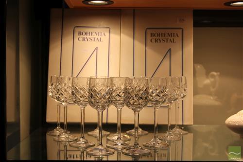 Bohemia Crystal Glasses in Box (12)