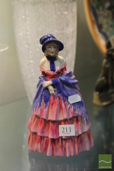 Royal Doulton Figure 'Victorian Lady