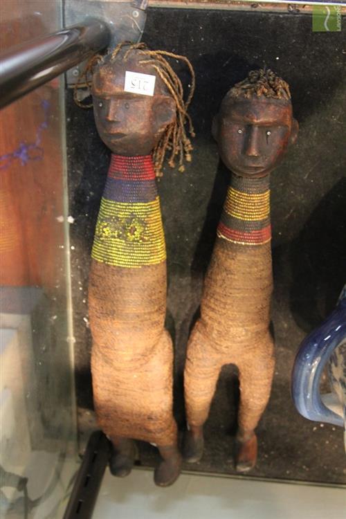Tribal Pair of Figures