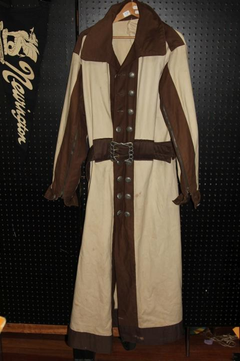 Medieval Style Trench Coat