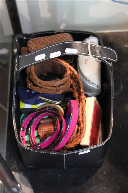 Ladies Belts with Other Similar Wares incl Sunglasses
