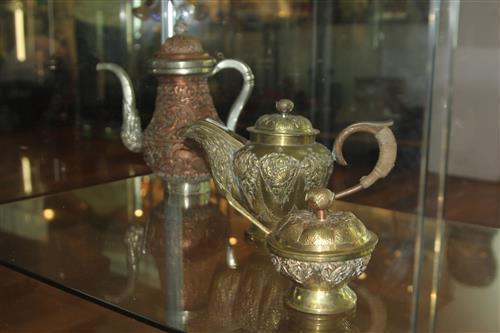 Brass Oriental Teaset