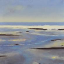 Simon Palmer (1956 - ) - Shoreline, 2006 110 x 110cm