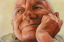 Vincent Fantauzzo (1977 - ) - Charles Blackman, 2007 100 x 150cm
