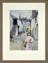 Henry Meynell Rheam (1859 - 1920) - Untitled, 1910 35.5 x 25cm