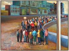 Terry Matassoni (1959 - ) - Crowd, 2007 90 x 120 cm (frame: 79 x 104 x 5 cm)